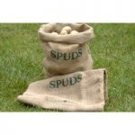 Potato Spud Hessian Jute Storage Sacks by Burgon and Ball