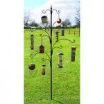 Bird Sanctuary Feeding Station Tree by Tom Chambers