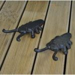 Set of 2 x Gardman Cast Iron Beetle Boot Jacks