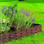 Set of 4 Willow Hurdles Lawn Edging (120cm x 20cm) by Gardman