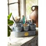 Sophie Conran Gardeners Gubbins Pots & Tray Galvanised by Burgon and Ball