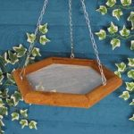 Snackery Hanging Tray Bird Feeder by Tom Chambers