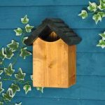 Traditional Wooden Robin Bird Nest Box by Tom Chambers