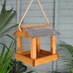 Foss Hanging Bird Table by Tom Chambers