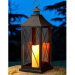 Galley Battery Operated Candle Lantern by Smart Solar