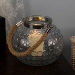 Cosmos Glass Lantern Candle Holder by Smart Garden