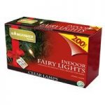 Kingfisher 200 White Fairy Indoor Christmas Lights (mains)