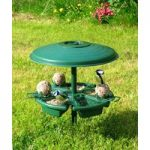 Banquetting Hall Feeder For Wild Birds by Meripac