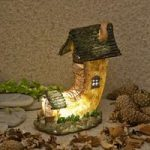 The Home Of Water Goldwasp Fairy Dwelling Light (Solar) by Garden Glows