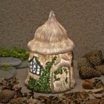 The Home Of Clover Demonbranch Fairy Dwelling Light (Solar) by Garden Glows