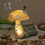 The Home Of Berry Iceleaf Fairy Dwelling Light (Solar) by Garden Glows