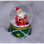 Kingfisher 65mm Christmas Snow Globe with LED Light