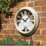 Exeter Wall Clock Humidity Gauge & Thermometer by Smart Garden