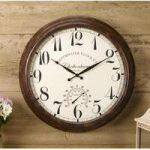 Cheltenham Wall Clock & Thermometer by Smart Garden
