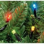 200 LED Multi-Coloured String Lights (Mains) by Kingfisher