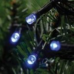 80 LED Blue Multi-Action String Lights (Mains) by Kingfisher