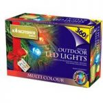 360 LED Multi-Coloured String Lights (Mains) by Kingfisher