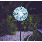 Colour Changing Snow Flake Solar Border Ball