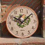 Robin Wall Clock by Smart Garden