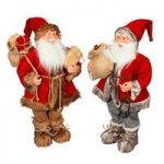 Nordic Father Christmas Santa Figure Decoration Ornament – 60cm