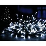 200 LED White Supabright String Lights (Mains) by Premier