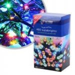 480 LED Multi-Coloured Supabright String Lights (Mains) by Premier