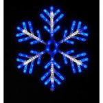LED Shooting Snowflake 60cm by Adventa