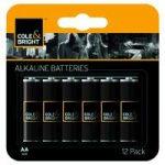 12 x AA Alkaline Batteries by Gardman