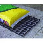 Interlocking Growbag Mat for Improved Drainage (set of 16) by Selections