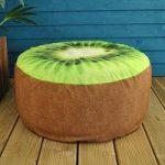 Outdoor Pouffe Garden Seat Kiwi Design by Fallen Fruits