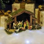 Traditional Christmas Nativity Scene