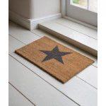 Star Design (65cm x 40cm) Coir Doormat by Garden Trading