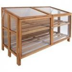 Wooden Wide Garden Plant Growhouse by Fallen Fruits