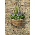 Artificial Topiary Hanging Basket (25cm) by Gardman