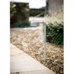 Galvanised St Ives Path Light (Mains) By Garden Trading