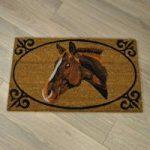 Horse Portrait Coir Doormat by Gardman