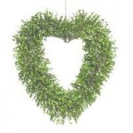 Pre-Lit Artificial Topiary Hanging Heart