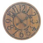 Saloon Wooden Wall Clock by Gardman
