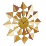 Arabian Gold Star Wall Clock by Gardman