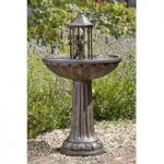 Dancing Couple Fountain Outdoor Water Feature (Solar) by Smart Solar