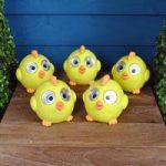 Set of 5 Bright Eyed Happy Chick Spot Lights (Solar) by Smart Garden