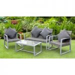 Palma 4 Seater Garden Furniture Sofa Set by Li-Lo Leisure
