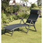 Havana Black Sun Lounger by Suntime