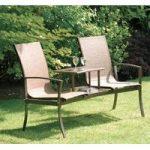 Havana Bronze Garden Duo Seat by Suntime