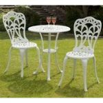Perth 3 Piece Garden Bistro Set by Suntime
