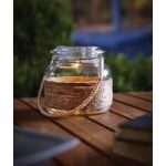 Glass Hanging Jar (Solar) by Gardman