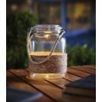 Glass Hanging Jar 14cm (Solar) by Gardman