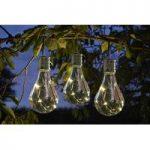 Eureka Lightbulb Lantern Set of 6 (Solar) by Smart Solar