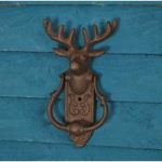 Stag Cast Iron Door Knocker by Fallen Fruits