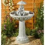 Umbrella Fountain Outdoor Water Feature (Solar) by Smart Solar